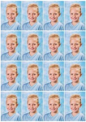 16-pasfoto's