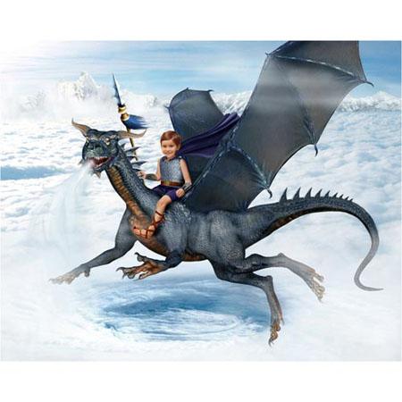 Draak-Wind-Sprookjesfoto: Uw kind als elfje op de foto!