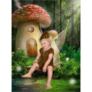 Elfje-A-Sprookjesfoto: Uw kind als elfje op de foto!
