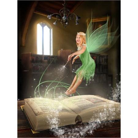 Sprookje-D-Sprookjesfoto: Uw kind als elfje op de foto!