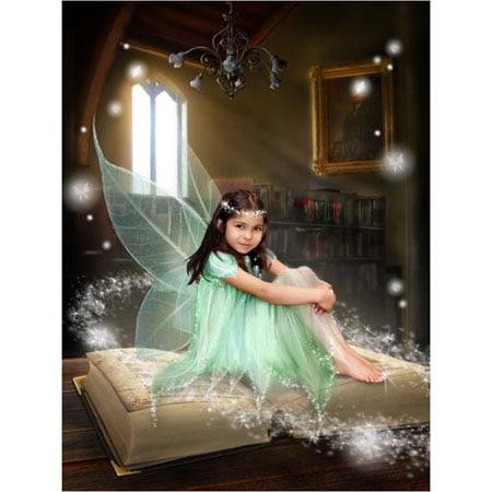 Sprookje-E-Sprookjesfoto: Uw kind als elfje op de foto!