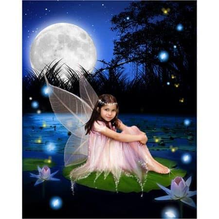 Sprookje-G-Sprookjesfoto: Uw kind als elfje op de foto!