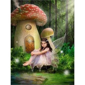 Sprookje-L-Sprookjesfoto: Uw kind als elfje op de foto!