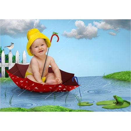 baby-02-Sprookjesfoto: Uw kind als elfje op de foto!
