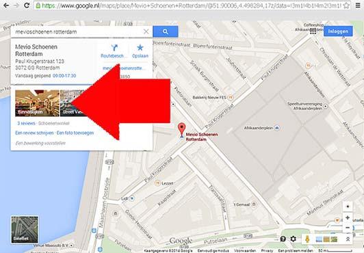 Zoeken op Google Maps
