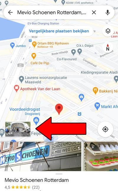 Waar te vinden op Google Maps
