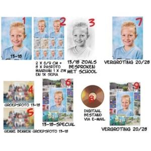 Bestellen-Schoolfoto's