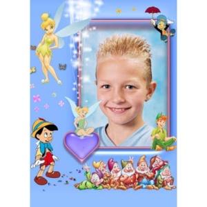 special-001-De foto van uw kind met een speciaal kader er omheen