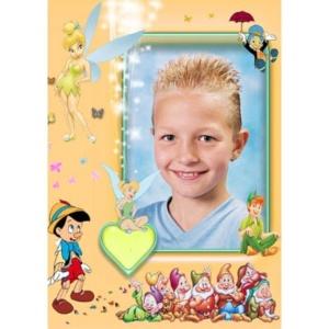 special-004-De foto van uw kind met een speciaal kader er omheen