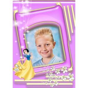 special-006-De foto van uw kind met een speciaal kader er omheen