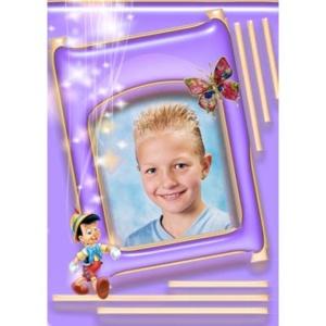 special-008-De foto van uw kind met een speciaal kader er omheen