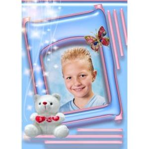 special-009-De foto van uw kind met een speciaal kader er omheen
