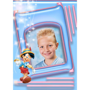 special-12-De foto van uw kind met een speciaal kader er omheen