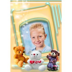 special-14-De foto van uw kind met een speciaal kader er omheen
