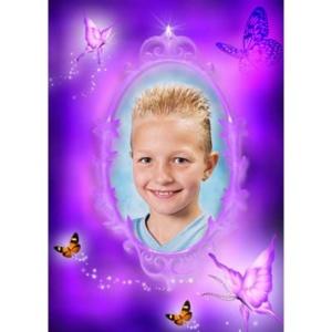 special-17-De foto van uw kind met een speciaal kader er omheen