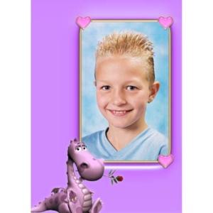 special-19-De foto van uw kind met een speciaal kader er omheen