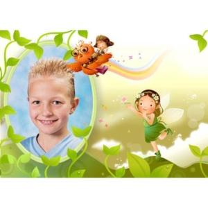special-24-De foto van uw kind met een speciaal kader er omheen