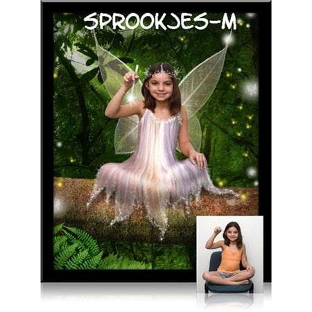 sprookje-M-Sprookjesfoto: Uw kind als elfje op de foto!